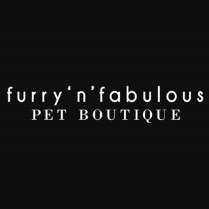 furry 'n' fabulous pet boutique logo